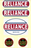 M21   MINNITOYS RELIANCE DECAL SET